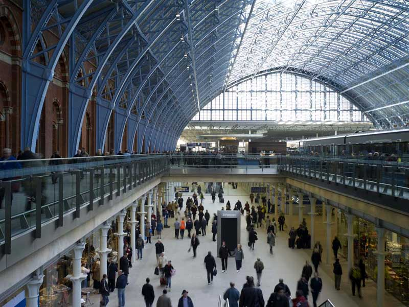 St Pancras Station Editorial