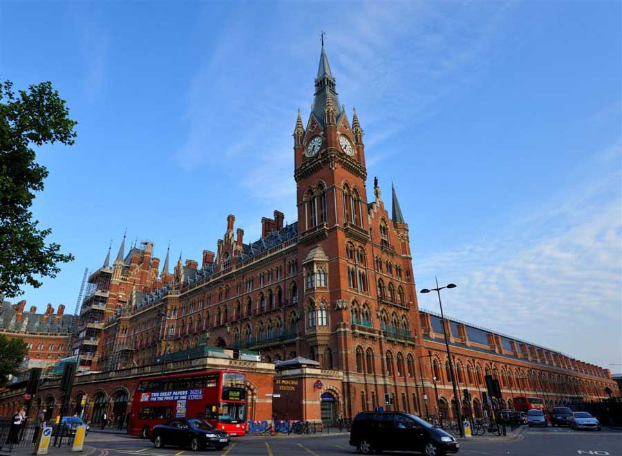 St Pancras To Natural History Museum By Tube