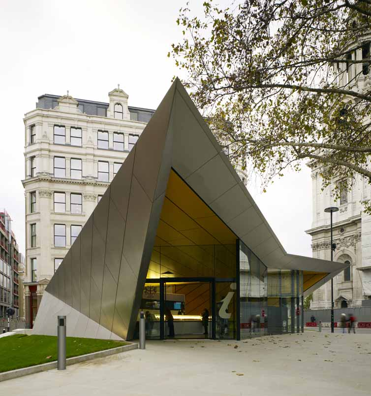 City Of London Information Centre St Pauls Cathedral E Architect