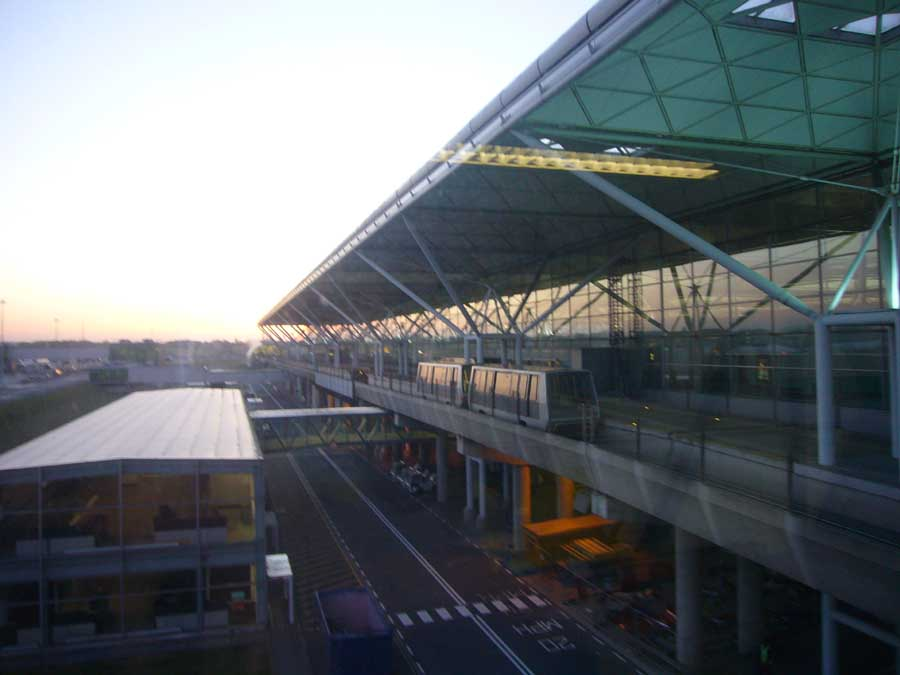 Stansted Airport London Essex Building Architect E