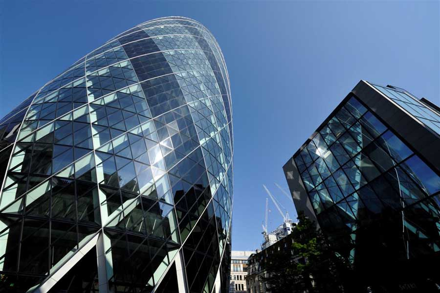 Swiss Re Building The Gherkin London E Architect