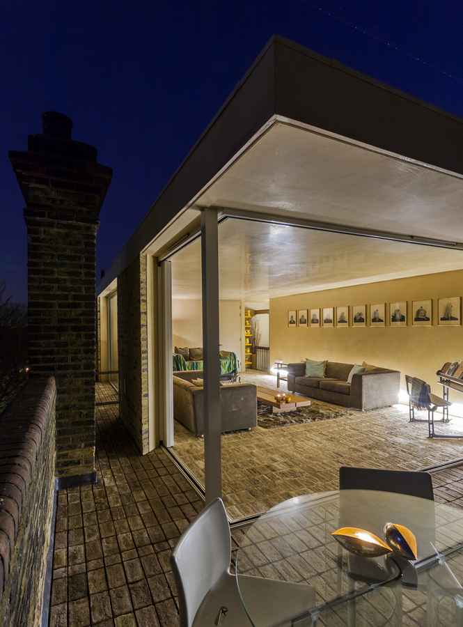 Tapestry Court Rooftop Extension London E Architect