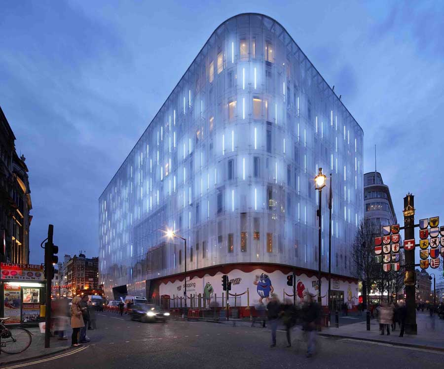W london leicester square hotel e architect for Modern hotels in london