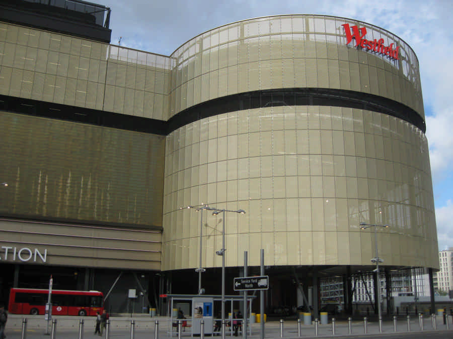 Westfield Stratford City Shopping Centre Cinema E Architect