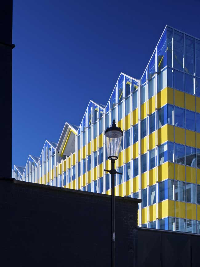 Yellow Building Monsoon Accessorize London E Architect