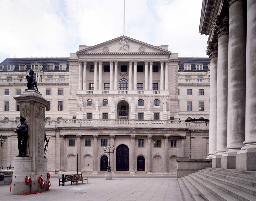 Bank of england building threadneedle street london e for Architecture anglaise
