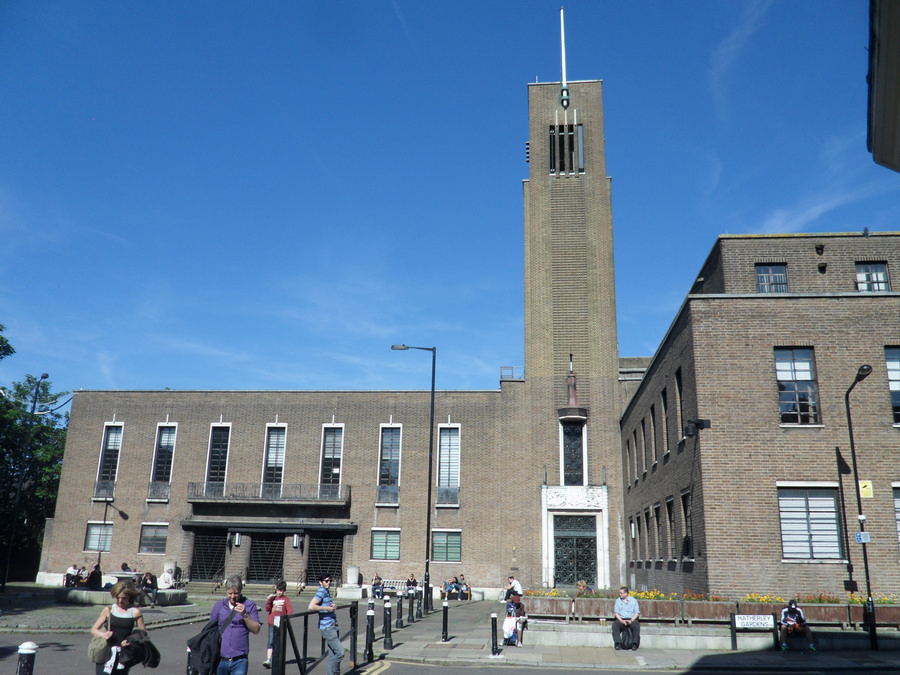 Hornsey Town Hall: Crouch End Building - e-architect Hornsey