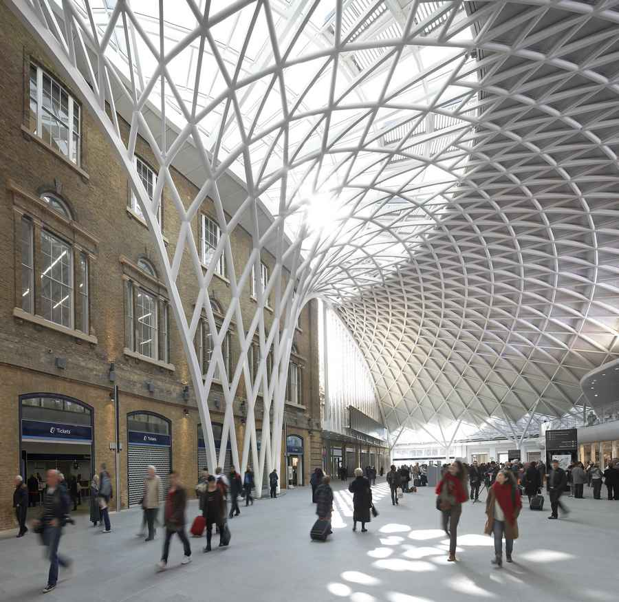 King Architecture: King's Cross Concourse, London