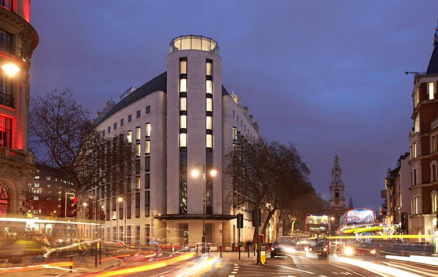 The me hotel london strand building e architect for Design strandhotels