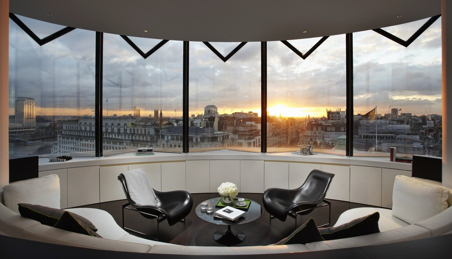The me hotel london strand building e architect for Top design hotels london