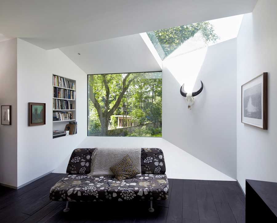 North london house extension e architect for Small house design london