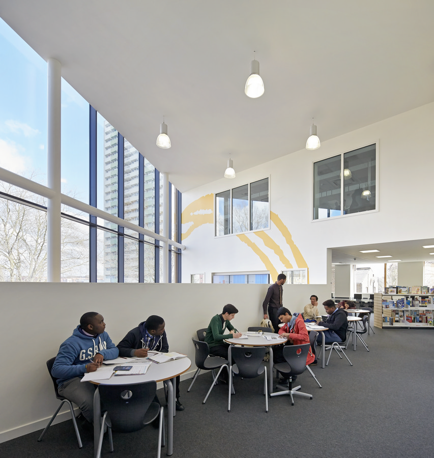 Oasis Academy Enfield London School E Architect