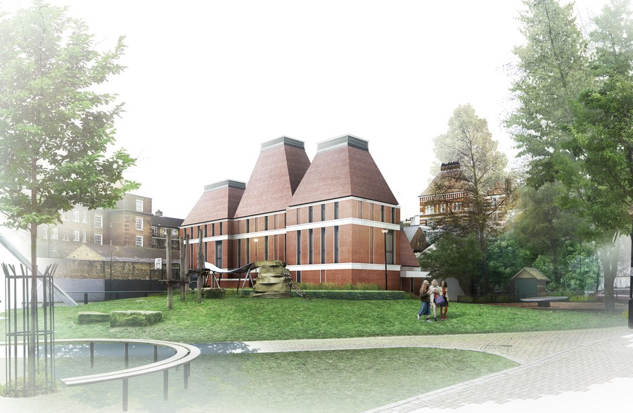St James Senior Girls School West London E Architect