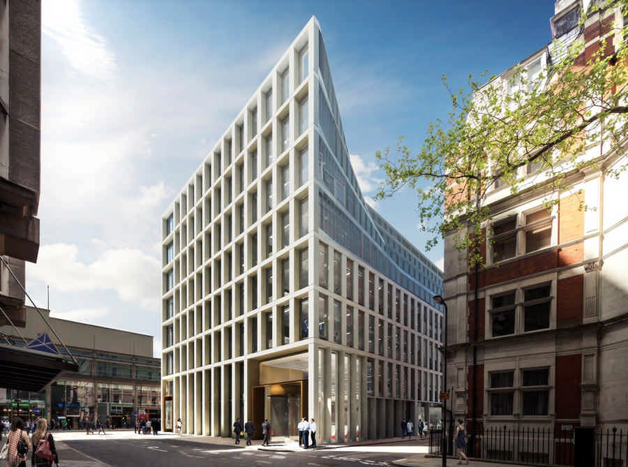 Tottenham Court Road London Redevelopment E Architect