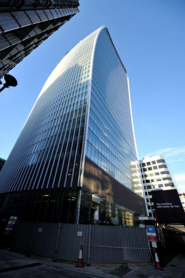 Walkie Talkie Building London 20 Fenchurch Street E