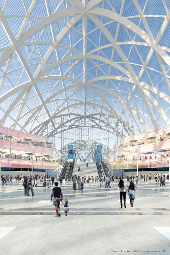 Anaheim regional transportation intermodal center artic for Architecture firms orange county