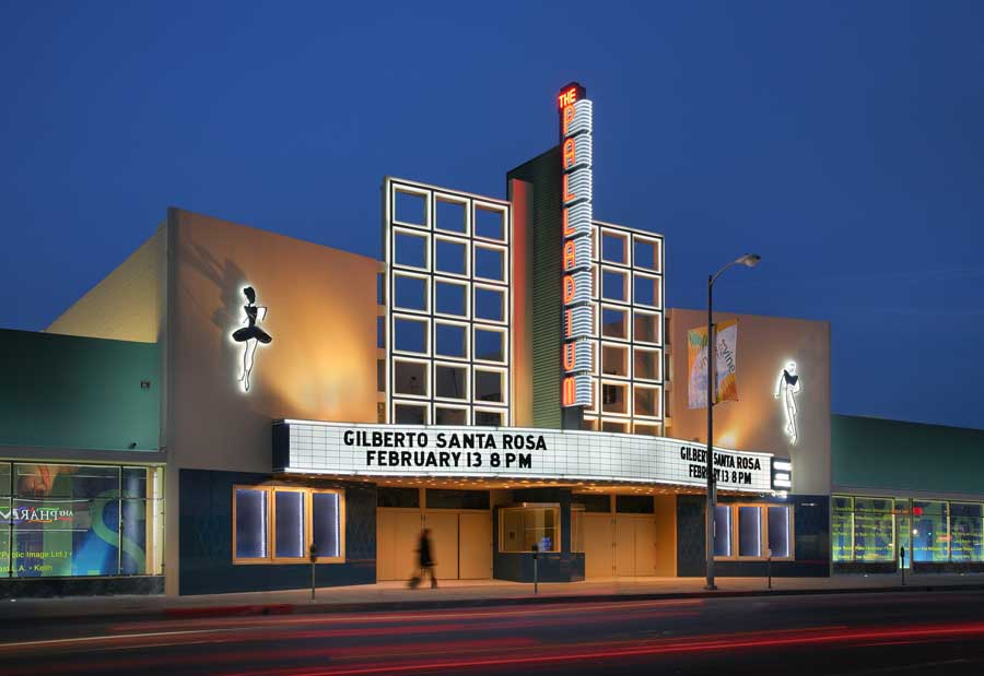 Hollywood palladium los angeles building restoration e for La architecte