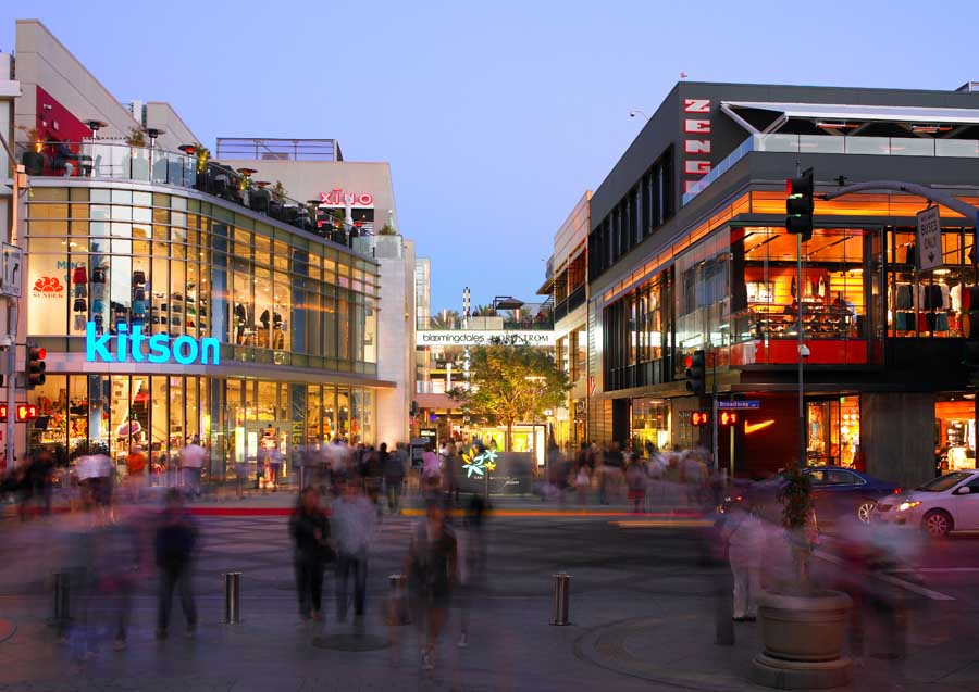 Santa Monica Place Mall Los Angeles Shopping Center E