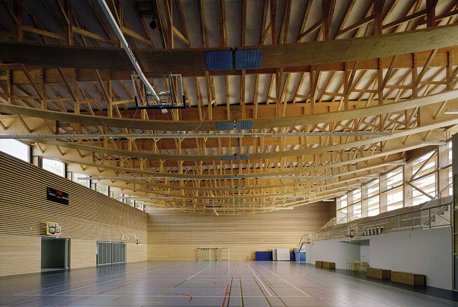 Saint Martin En Haut Gymnasium Lyon Building E Architect