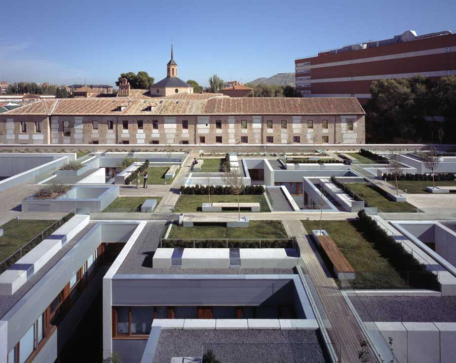 alcal de henares parador madrid building e architect