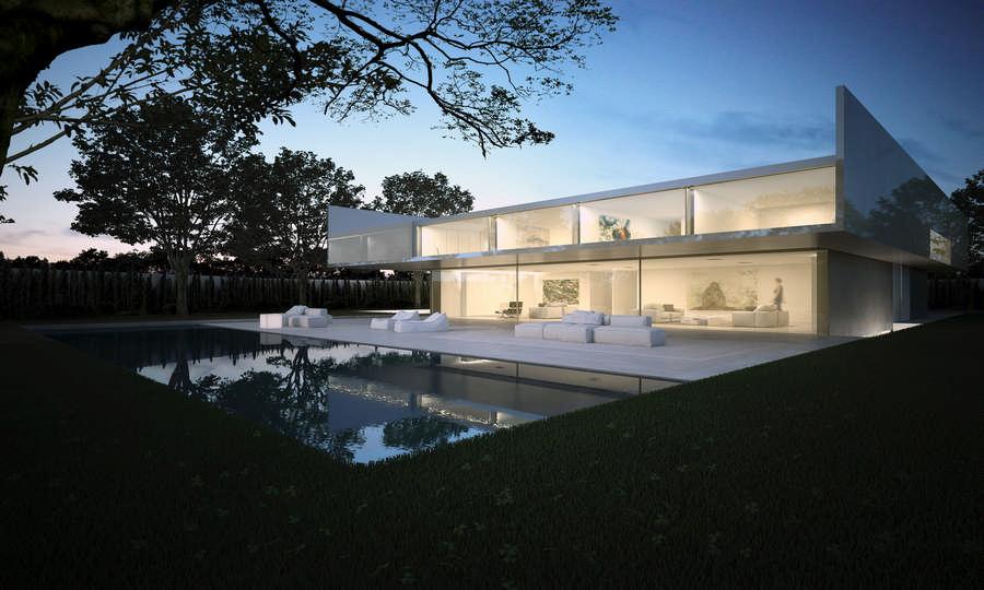 Aluminium house madrid