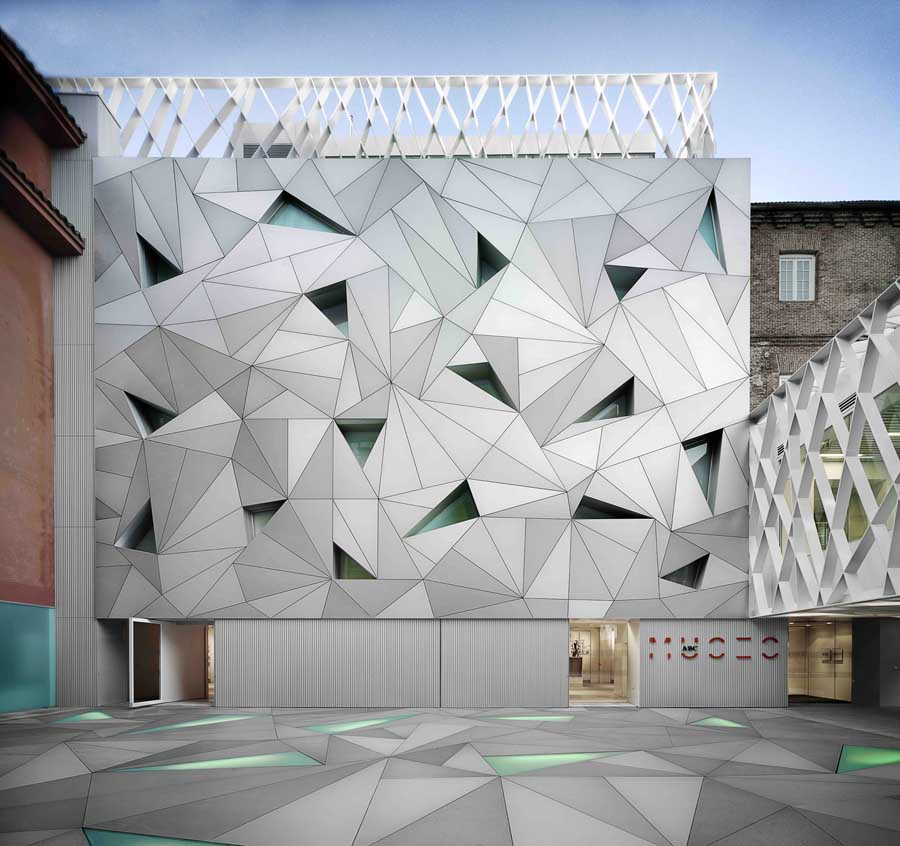 Madrid architecture buildings architects e architect for Museum designers