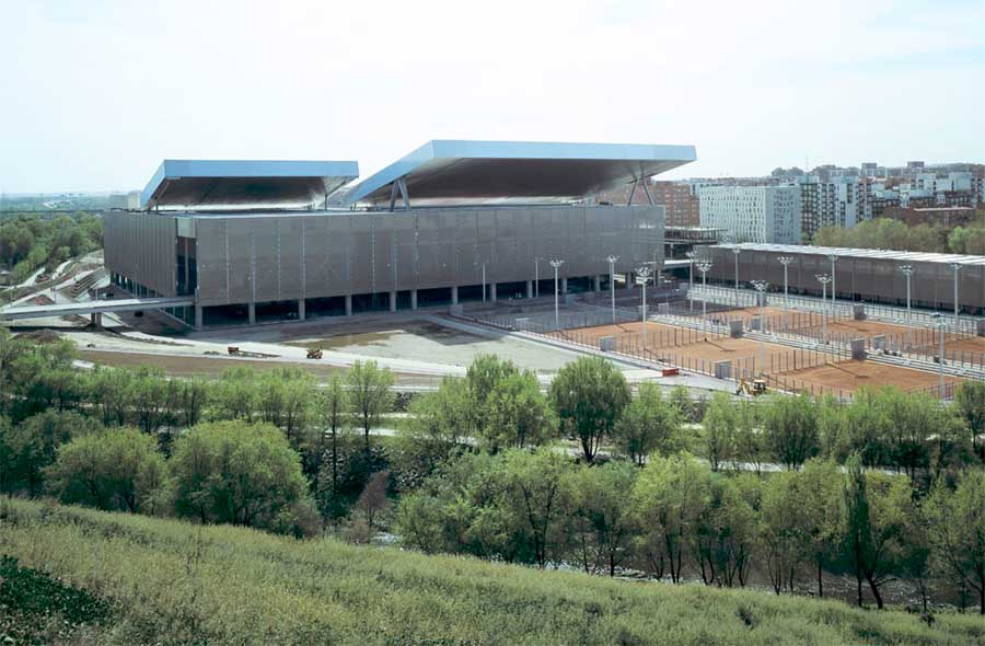 Olympic Tennis Centre Madrid Building E Architect