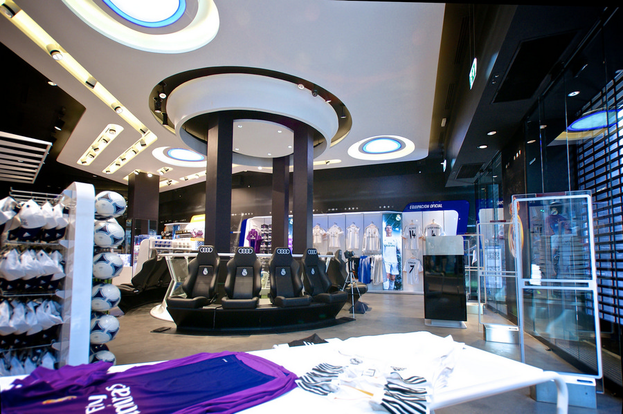 Real Madrid Official Club Store E Architect
