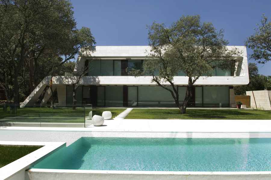 A cero architects spain e architect - Casas de joaquin torres ...