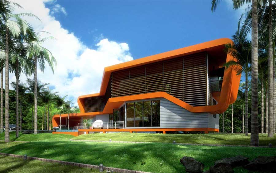 Sime darby idea house malaysia residential building e for Architecture design malaysia house
