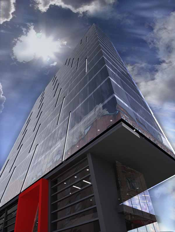 Axis Tower Albion Street Manchester E Architect