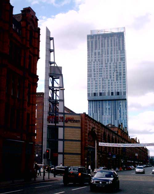 Hilton Hotel Manchester: Beetham Tower