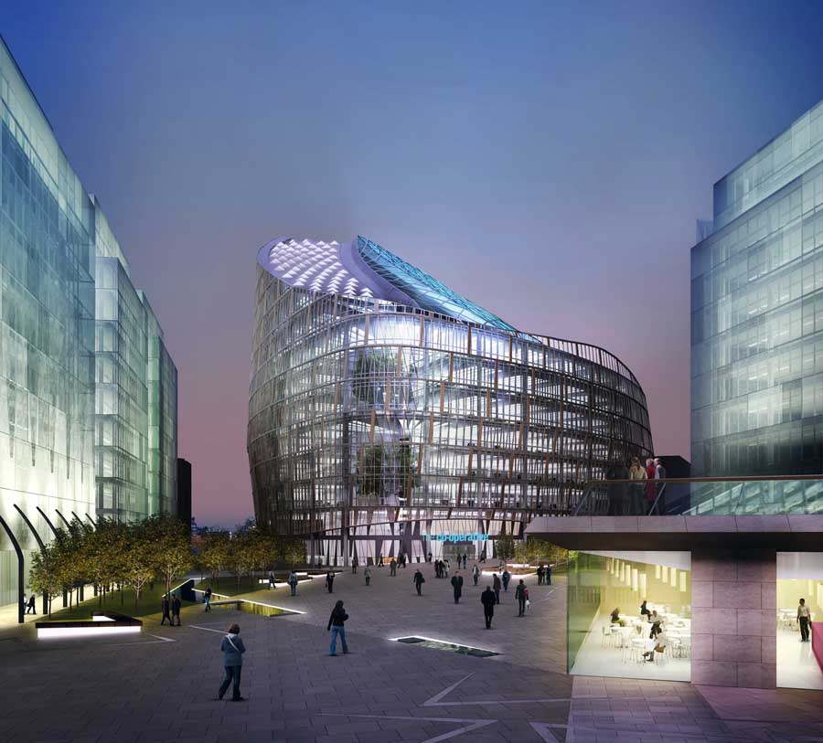 Co op headquarters hq manchester e architect for New house company