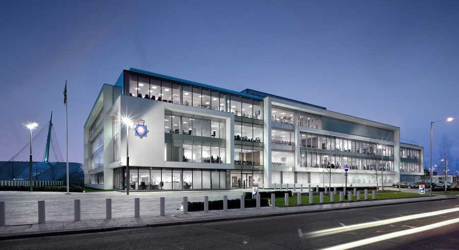 Greater manchester police authority hq e architect for Office design west yorkshire