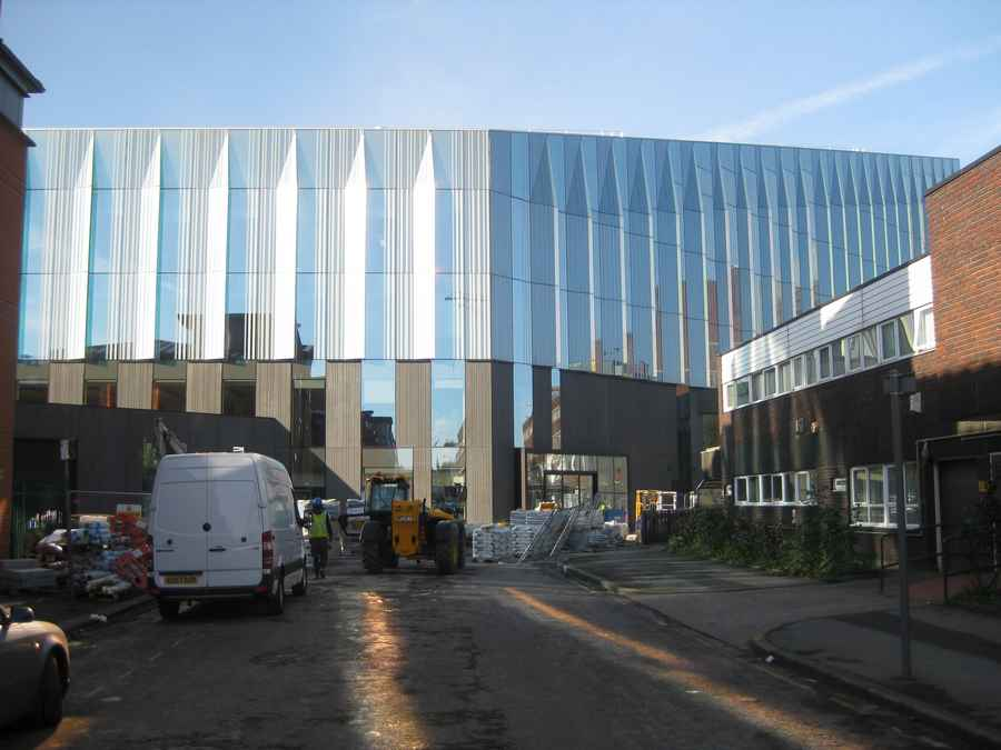 Manchester Metropolitan University Campus Hulme E architect