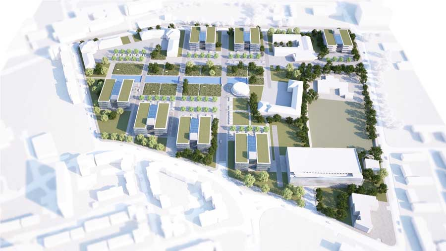 Manchester science parks masterplan e architect for Architecture 770