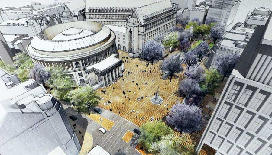 One St Peters Square Manchester E Architect