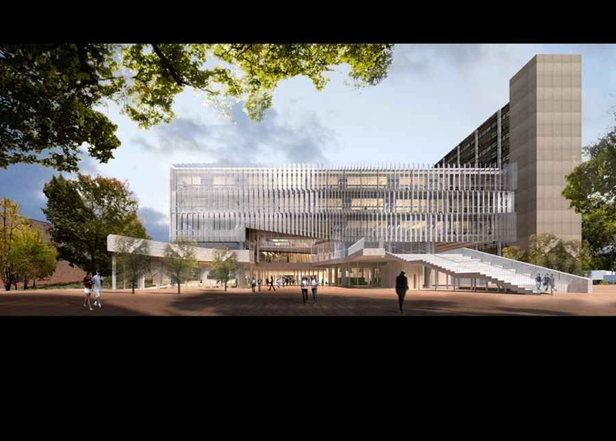 University of melbourne building competition australia for Architecture firms melbourne