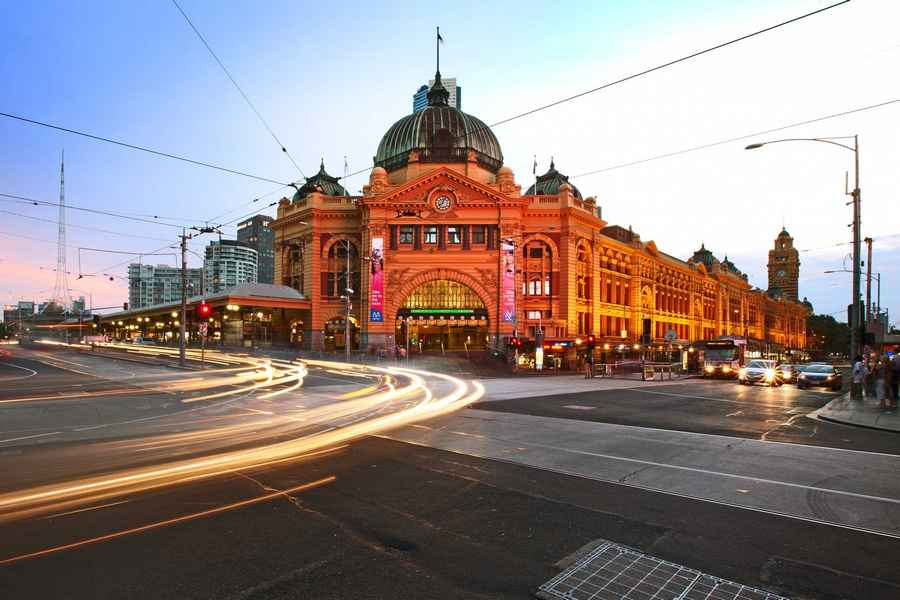 Flinders street station design competition e architect for Architecture firms melbourne
