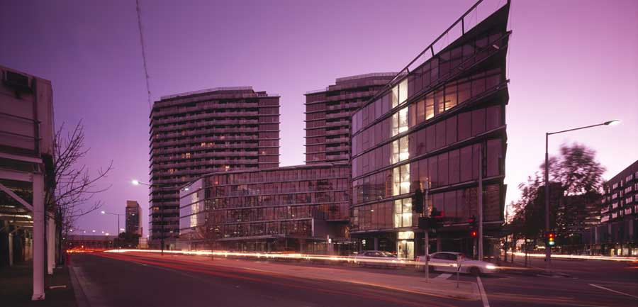 Site One Bourke Street Building Melbourne Docklands Building E Architect