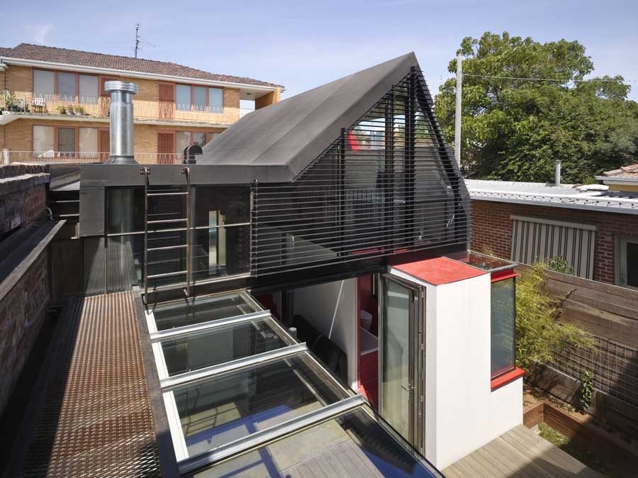 Vader house fitzroy residence melbourne property e for Design industry melbourne
