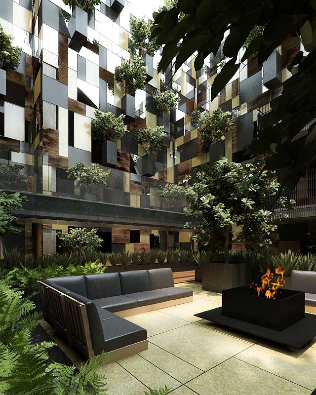 City Apartment: Goldsmith Apartment Building, Mexico City