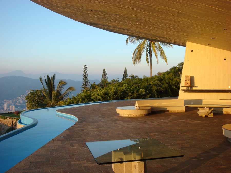 Arango residence john lautner house marbrisa house e architect Home architecture in mexico