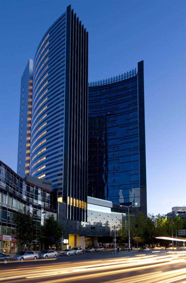 Plaza residences mexico city residential tower e architect - Arquitectos ciudad real ...