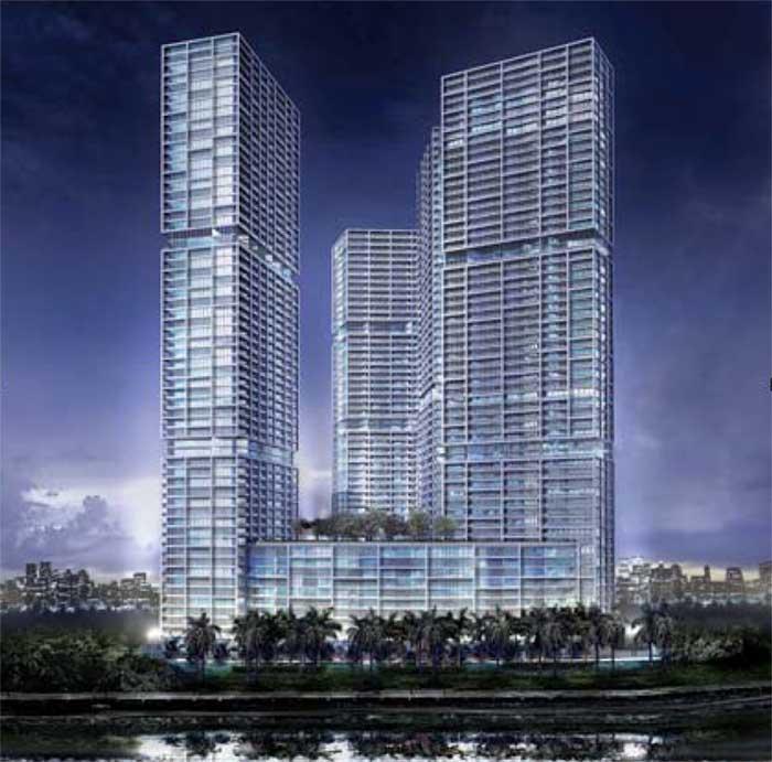 icon brickell miami - hotel, condominium florida - e-architect