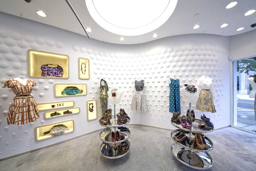 Marni Boutique Miami Store Florida Boutique E Architect
