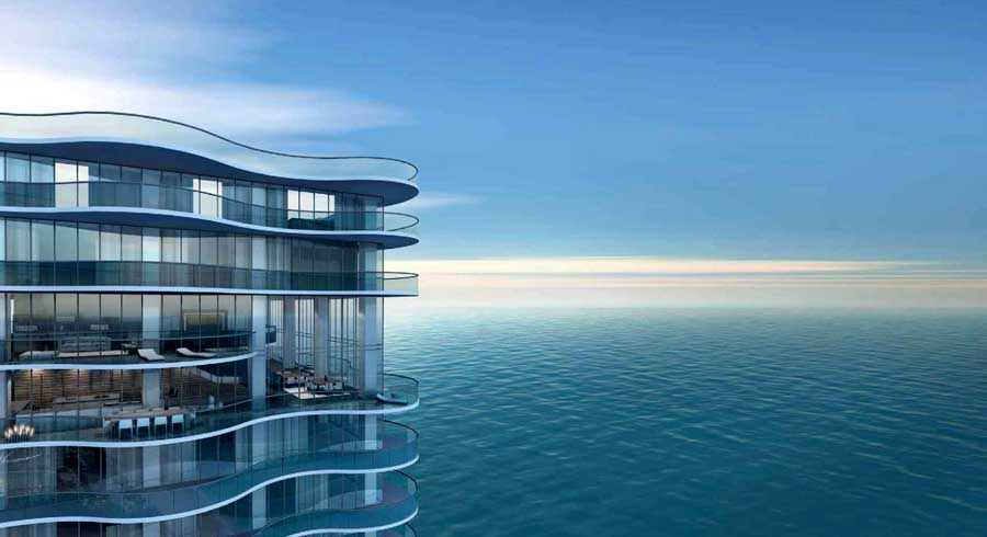 Miami Condominium Development, Florida, USA