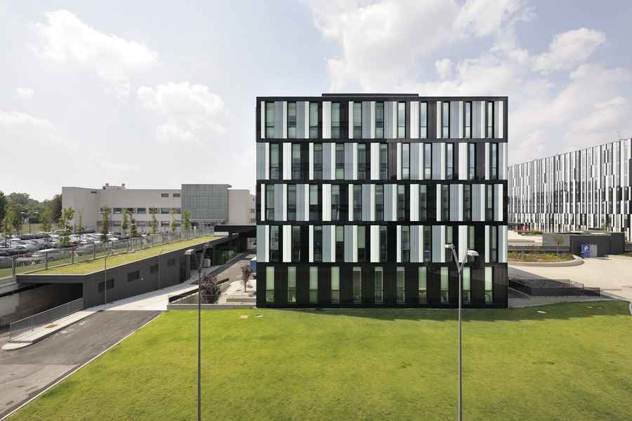 b5 building for rcs mediagroup milan architecture office design