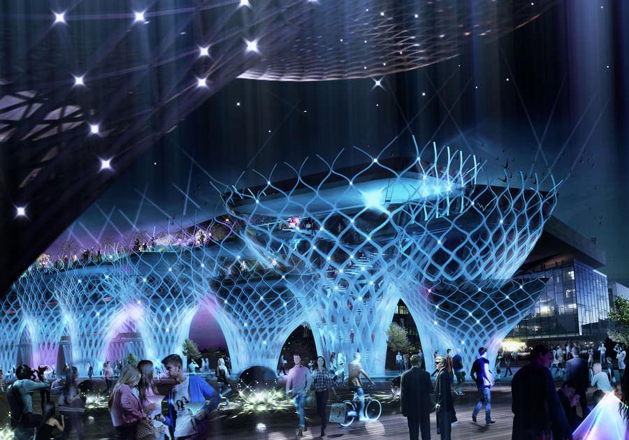 Iran Pavilion Expo 2015 Milan E Architect