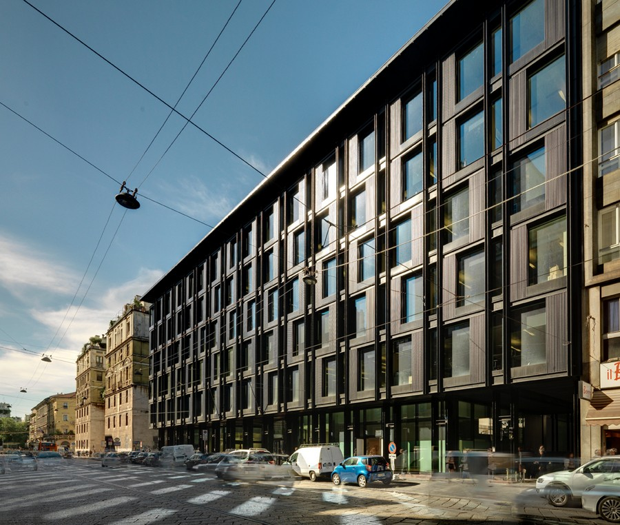 Milan architecture milanese buildings e architect - Architecture of a building ...